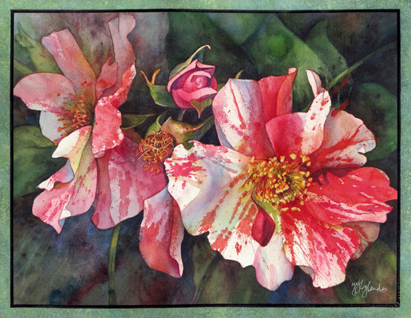 watercolor flower paintings jeanne hyland artist instructor